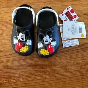 Crocs Mickey Mouse. Never worn.  Tags on. Size 11